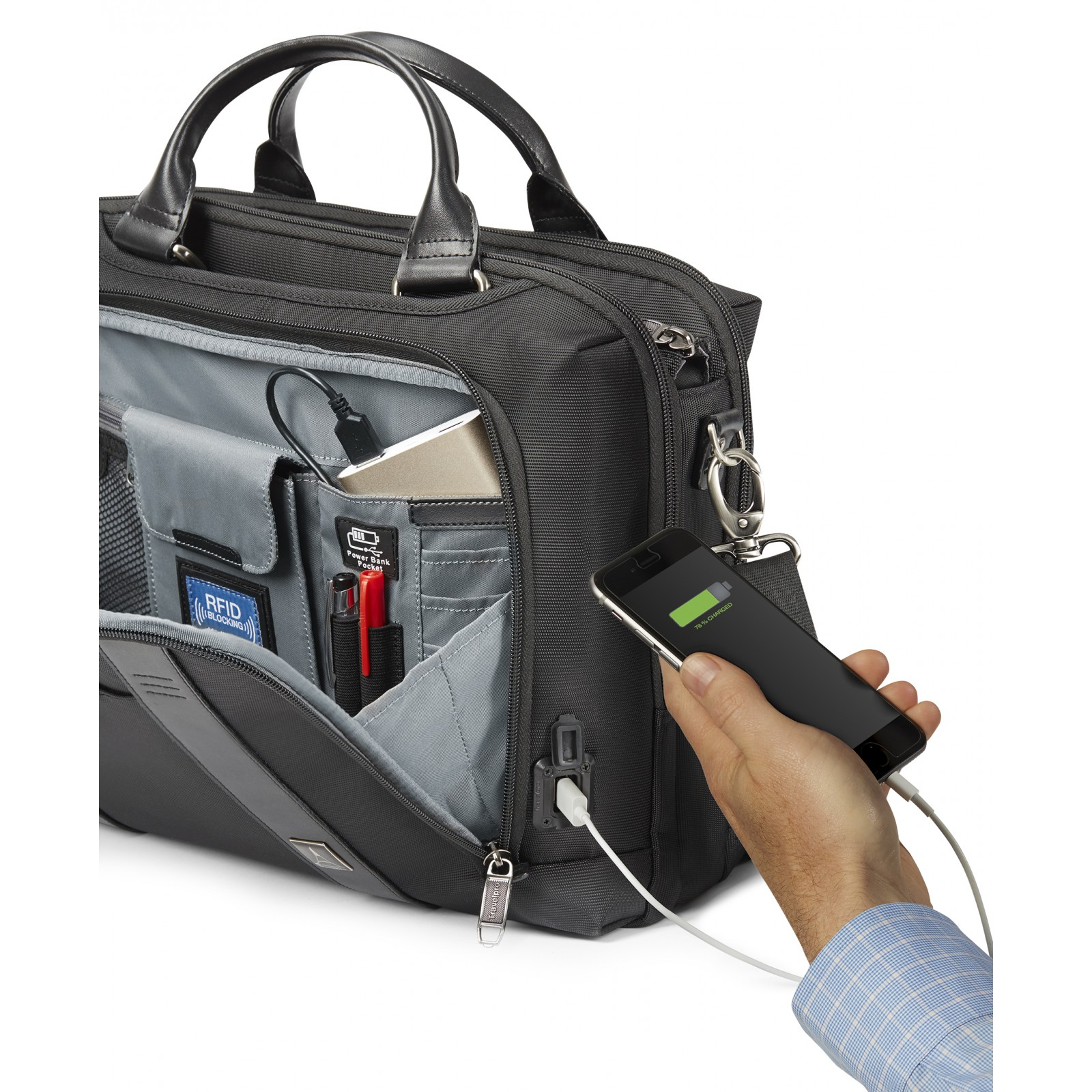 Our clothing for men and women is designed with pockets and features to securely hold and organize all of your personal belongings.