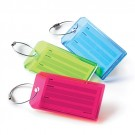 J & M Acrylic Luggage Tag
