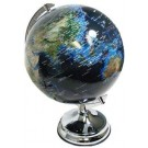 "NLDA 12"" Light Up Globe With Engery Saving Bulb"