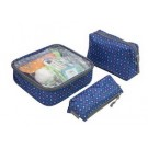 Travelon 3 Piece Toiletry Packing Set