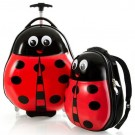 Heys America Travel Tots 2 piece Lady Bug Set