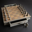 NLDA Distressed Chess Set