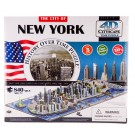 4D Cityscape New York  Puzzle